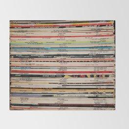 Blue Note Jazz Vinyl Records Throw Blanket