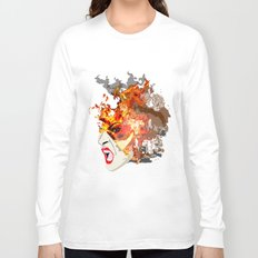 Fire- from World Elements Series Long Sleeve T-shirt