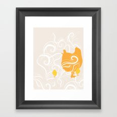 Chick poster Framed Art Print