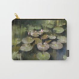Lotus Pond 3 Carry-All Pouch