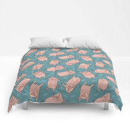 Pattern Project #52 / Piglets Comforters