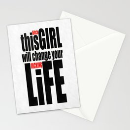 Change Your Life Stationery Cards