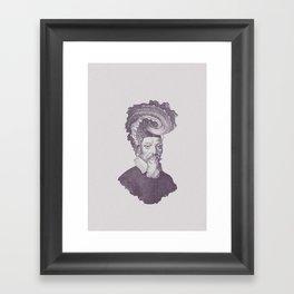 Haute Coiffure  /#8 Framed Art Print