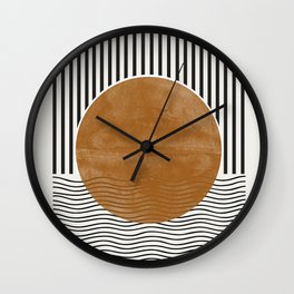 Abstract Modern Poster Wall Clock