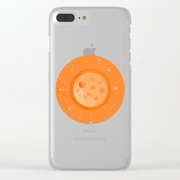 Planet B - Trappist System Clear iPhone Case