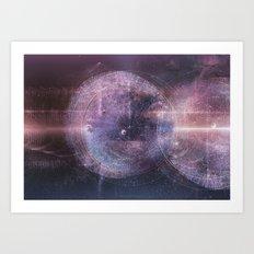 Listen the Universe Art Print
