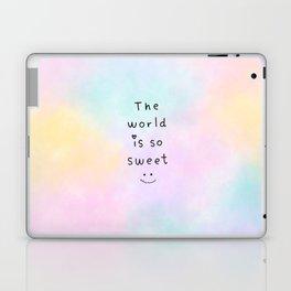 The World is so Sweet Laptop & iPad Skin