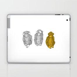 Silence Is Golden Laptop & iPad Skin