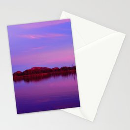 Pinks of Lake Kununurra Stationery Cards