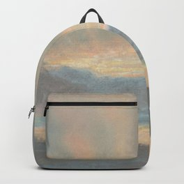 Sunset by Eugène Delacroix ca.1850, French Backpack