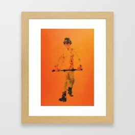 Droogie Framed Art Print