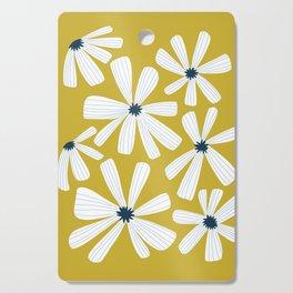 Retro Blooms Cutting Board