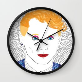 """Max Ernst-Bowie"" Wall Clock"