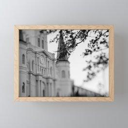 French Quarter Morning Framed Mini Art Print
