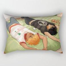 Lazy Day - Solangelo Rectangular Pillow