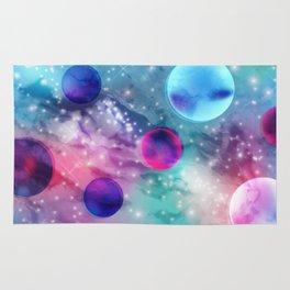 Vaporwave Pastel Space Mood Rug