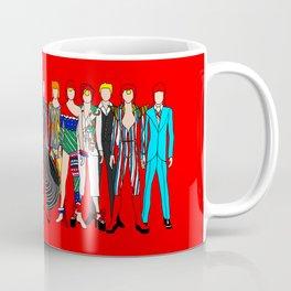 Starman on Red Coffee Mug