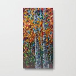 Aspen Trees - 1 Metal Print