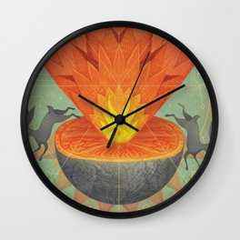 Catastrophe III Wall Clock