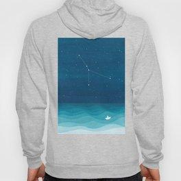 Cancer zodiac constellation Hoody