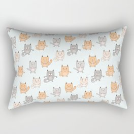Cute cats pattern Rectangular Pillow