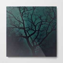Night Tree Metal Print