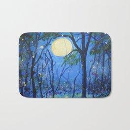 Fireflies in the Moonlight Bath Mat