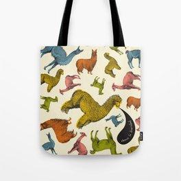 camelids Tote Bag