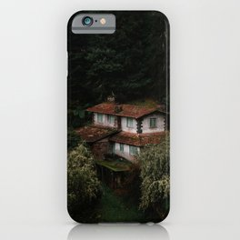 Mysterious Forest House – Landscape Photography iPhone Case