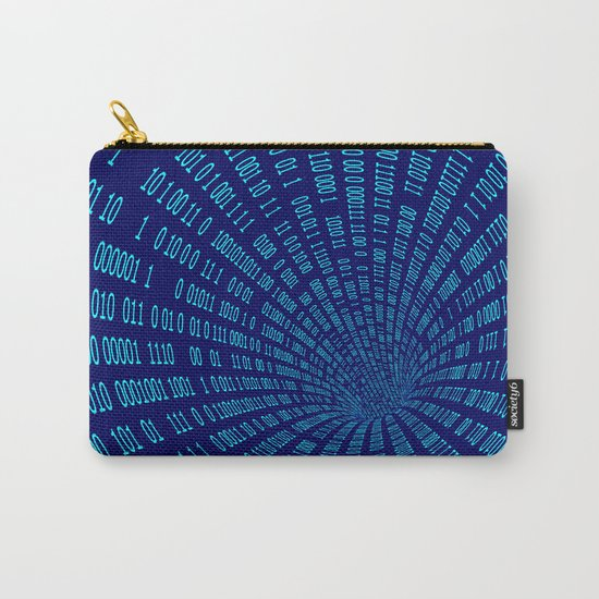 Data stream Carry-All Pouch
