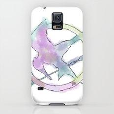 Mockingjay Watercolors Galaxy S5 Slim Case