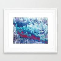 iceland Framed Art Prints featuring Iceland by Fernando Vieira
