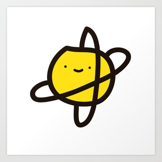 planet 1 Art Print