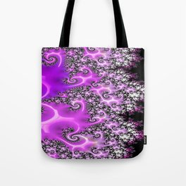 Pink Lace  Tote Bag