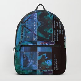 True Faith In A Blue Monday Backpack