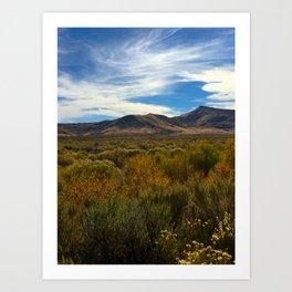 High Desert 2 Art Print
