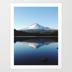 Mt. Hood at Trillium Lake Art Print