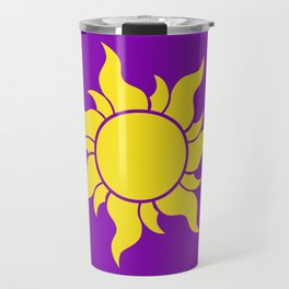 Rapunzel's Golden Sun Travel Mug