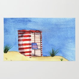 Summer Day at the Beach Rug