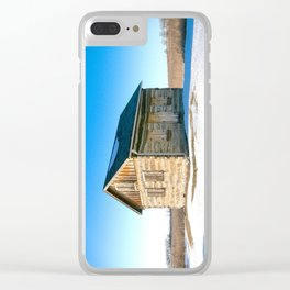 Wisconsin Log Cabin Clear iPhone Case