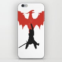 dragon age inquisition iPhone & iPod Skins featuring Dragon Age: Inquisition V1 by FelixT