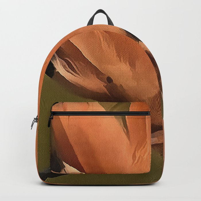 Beautiful Hoopoe Bird With Crown Of Feathers Backpack