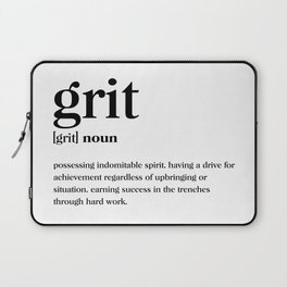 Grit Definition Laptop Sleeve