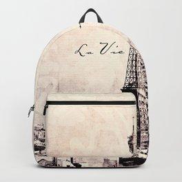 la Vie en Rose vintage Backpack