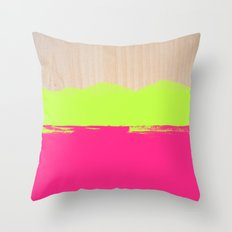 Sorbet VIII Throw Pillow