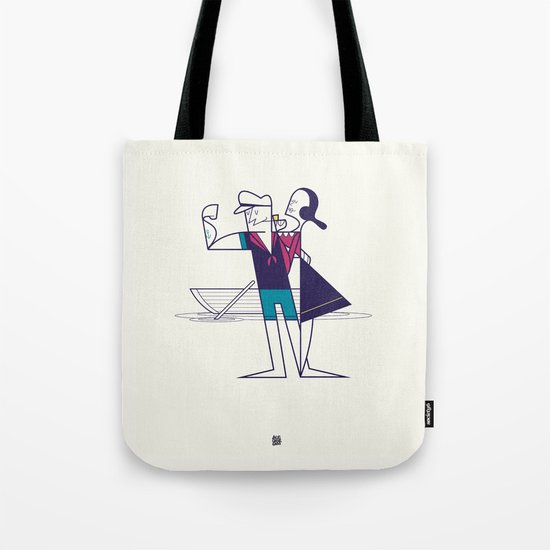 We will sail away Tote Bag