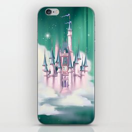 Star Castle In The Clouds iPhone Skin