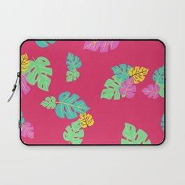 Baesic Tropic Leaves Laptop Sleeve