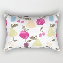 Funny cartoon Fruits Rectangular Pillow