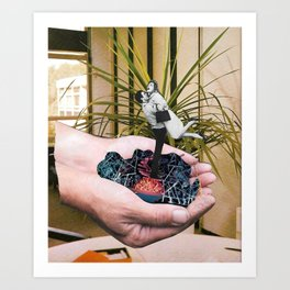 """Unconditional love"" Art Print"